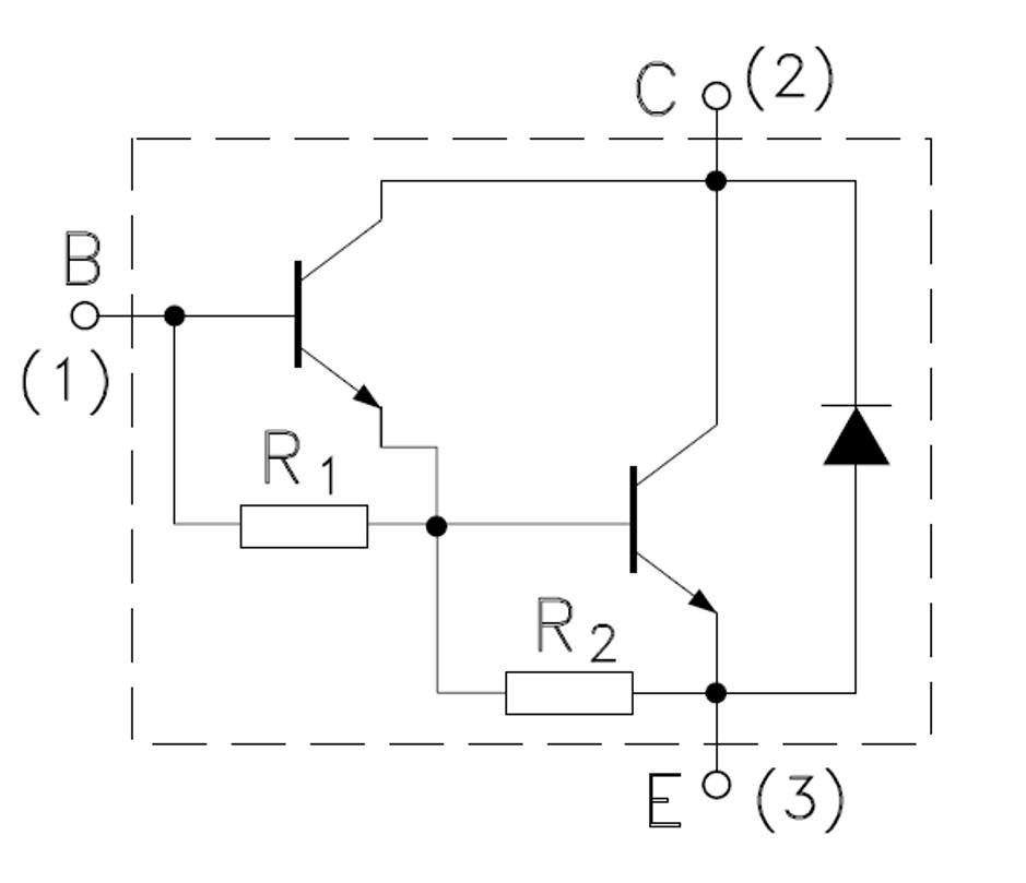 8 pieces bdw83c power transistor 100v 15a to