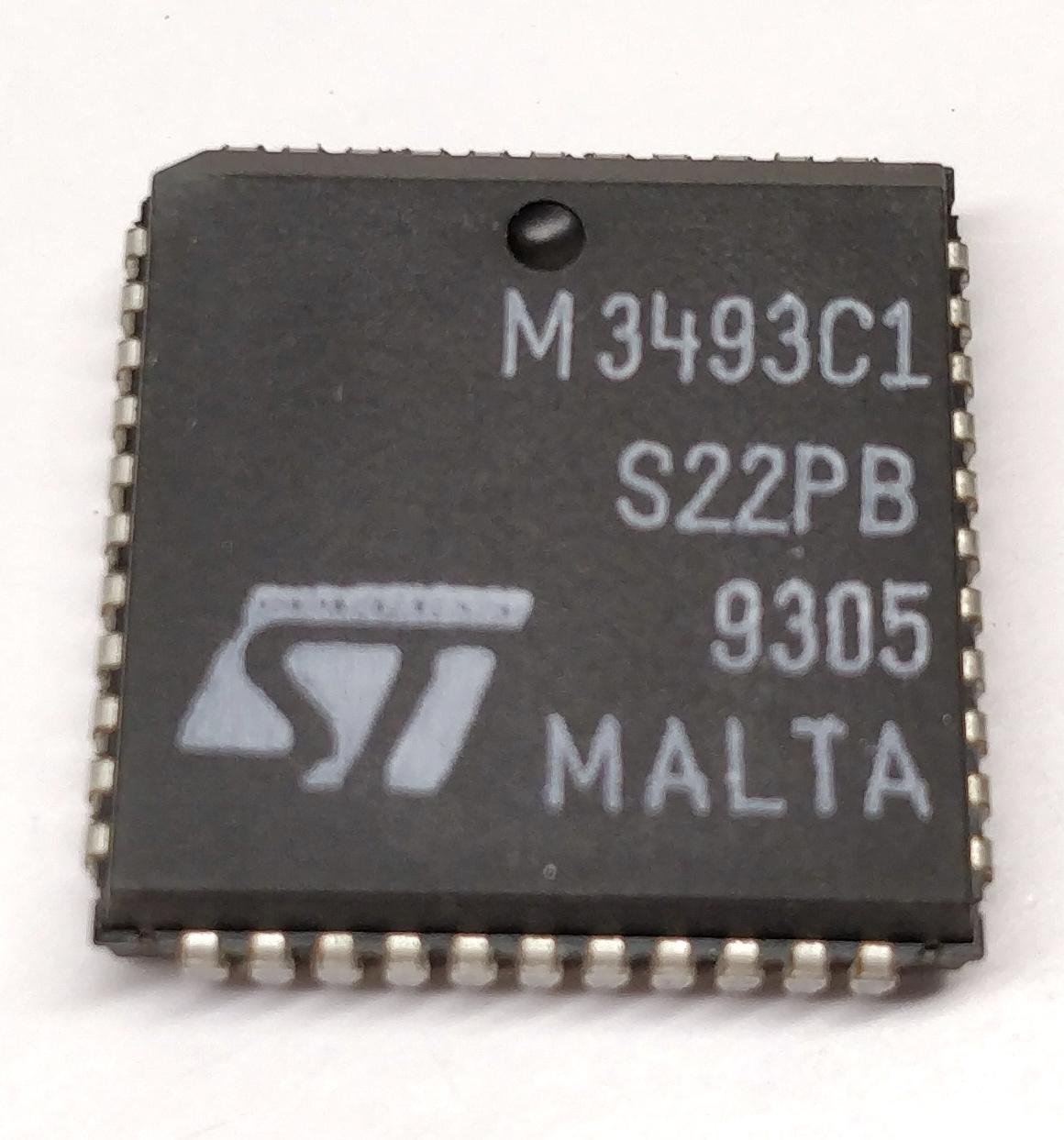 Control Memory cd22m3494sq 3 pezzi//3 pieces m3494b2 16 x 8 Crosspoint W
