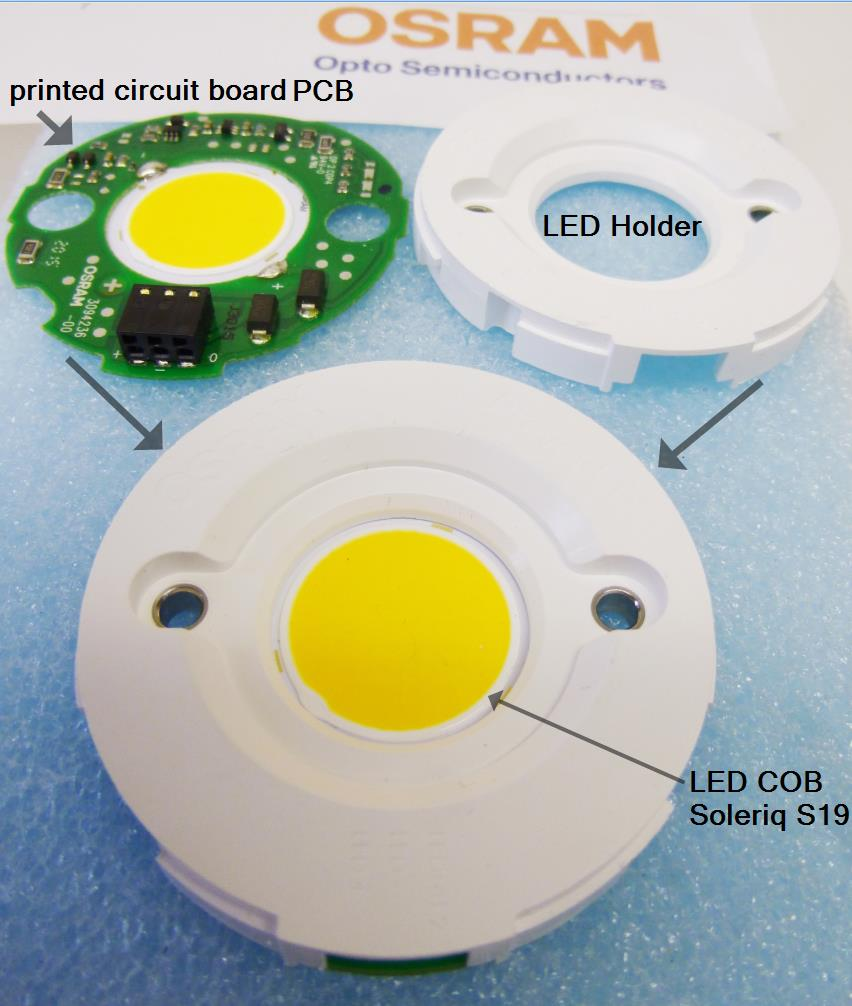 1 Piece PrevaLED Core Z4 LED Module 3500K 2110lm 17W 48V