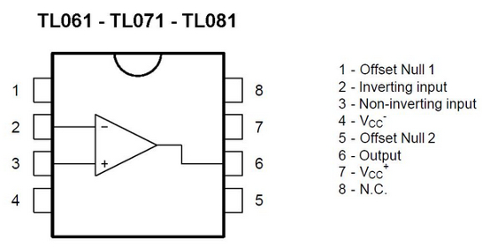 Details about 10 pieces TL061ID LOW POWER J-FET SINGLE OP AMP TL061 SO-8  NEW ~
